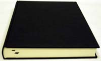 Grand livre d'or, noir / Guestbook L, black